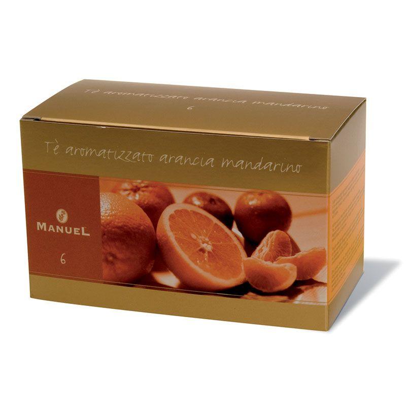 06 Narancs-mandarin ízesített fekete tea (20 filter/doboz)