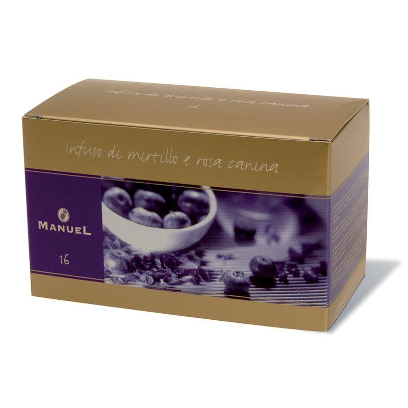16 Áfonya-vadrózsa gyümölcstea (20 filter/doboz)