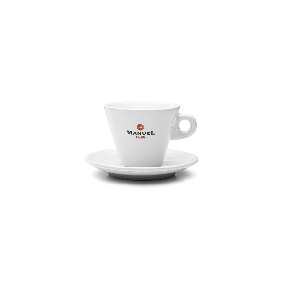PRESTIGE cappuccino-s csésze, alátéttel