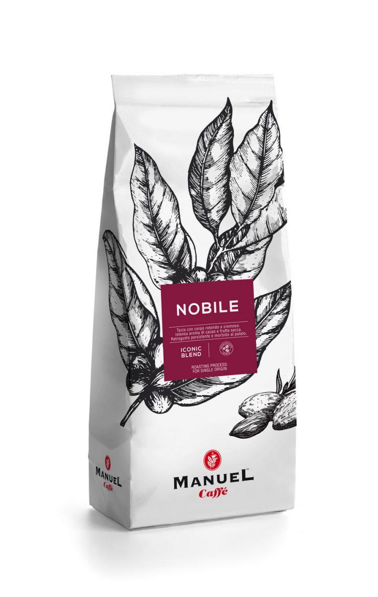 Manuel Caffe Nobile 60% robusta, 40% arabica szemes kávé 500gr