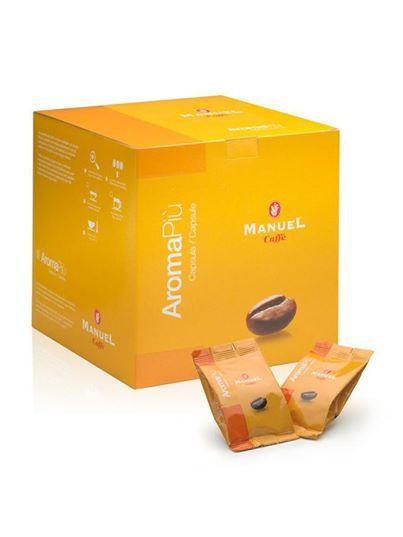 Aroma Piú - 40% arabica E2 kompatibilis kapszulás kávé (7 gr/kapszula)