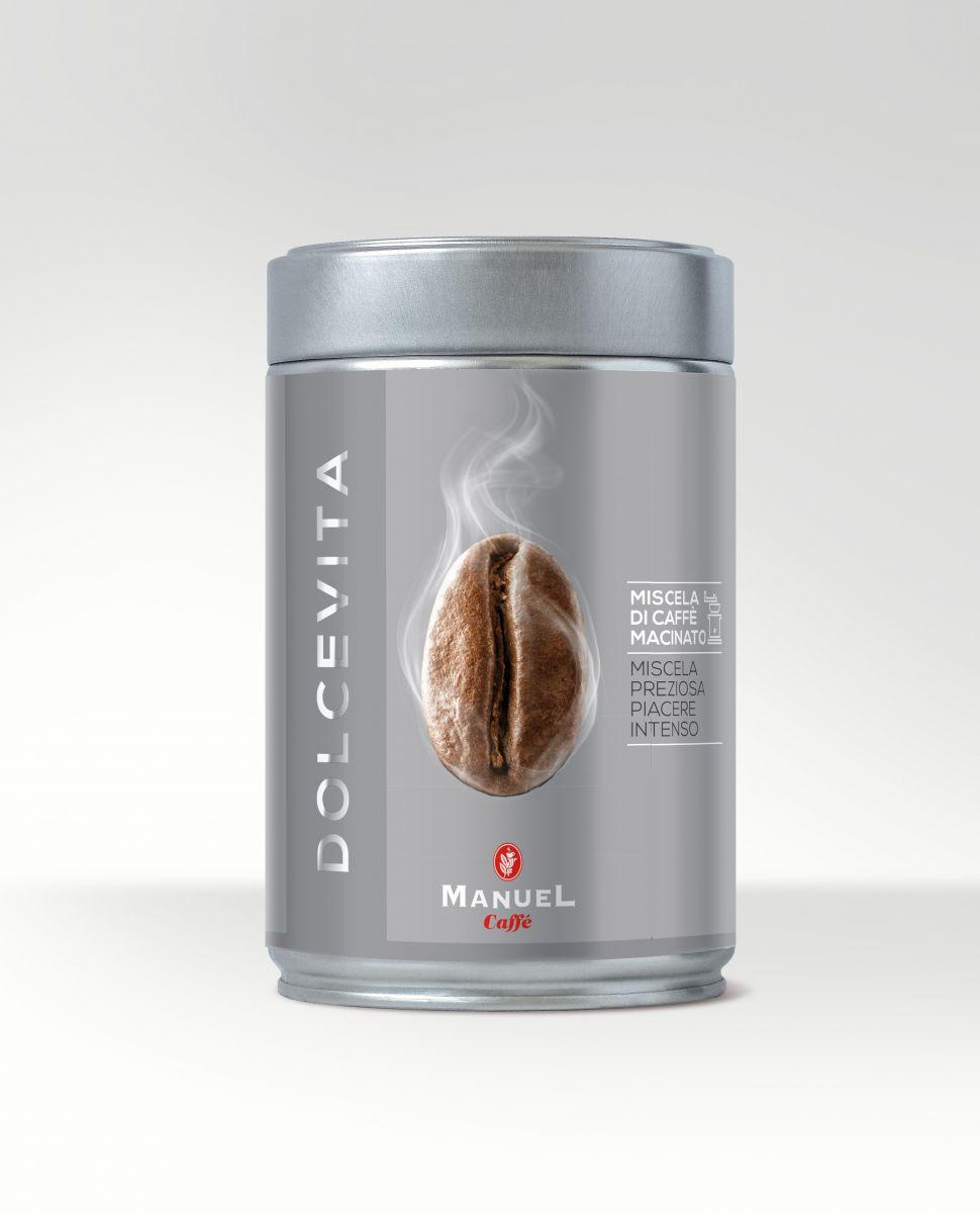 Manuel Caffe Dolce Vita 250 gr - 90% arabica őrölt kávé