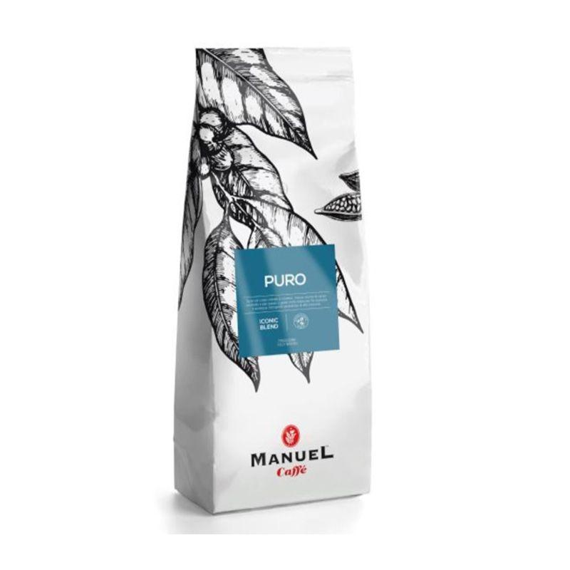 Manuel Caffe Puro - 20% arabica 1 kg szemes kávé