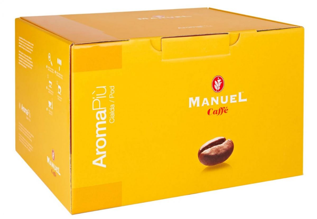 Manuel Caffe Aroma Piú 40% arabica filteres kávé (100 filter/doboz)