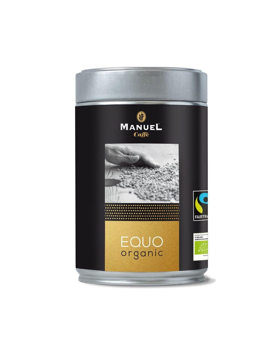 Manuel Caffe Bio organic és fair trade EQUO 250 gr - 80% arabica szemes kávé