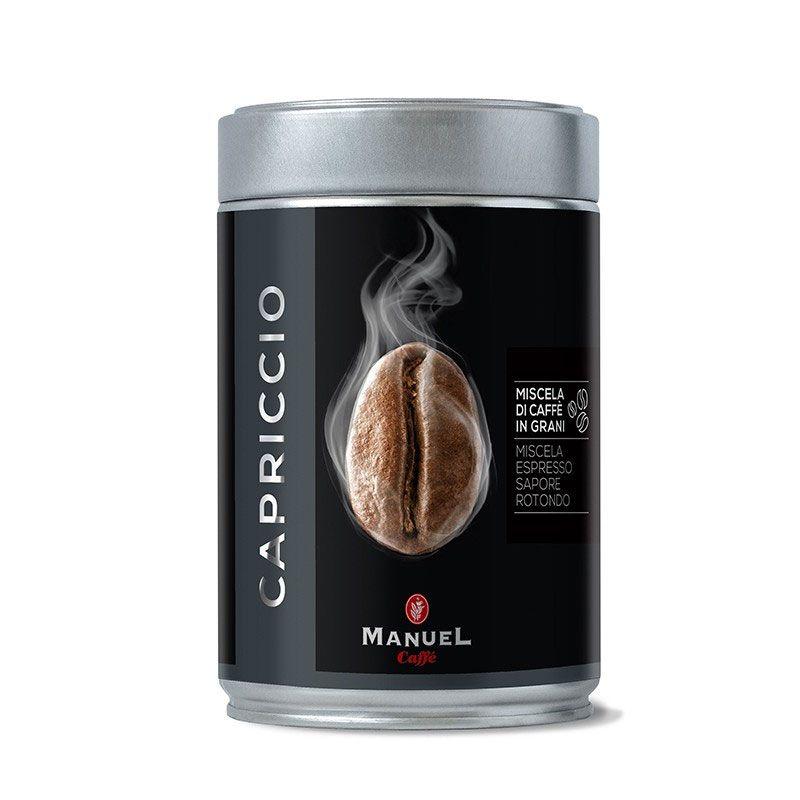 Manuel Caffe Capriccio 250 gr - 70% arabica szemes kávé