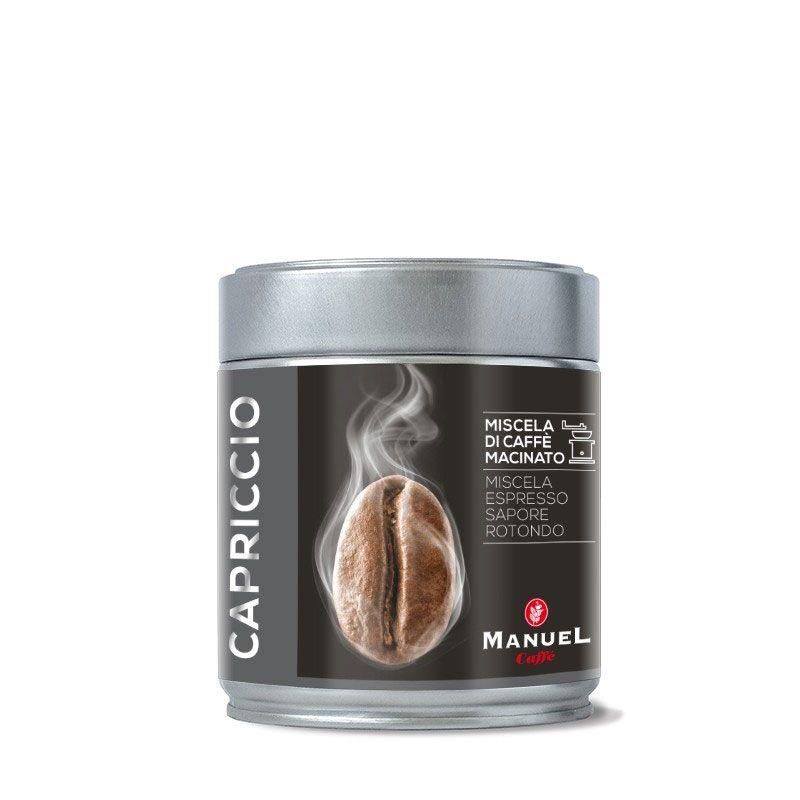 Manuel Caffe Capriccio 125 gr - 70% arabica őrölt kávé