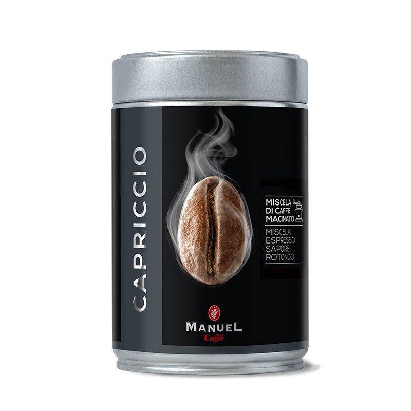 Manuel Caffe Capriccio 250 gr - 70% arabica őrölt kávé