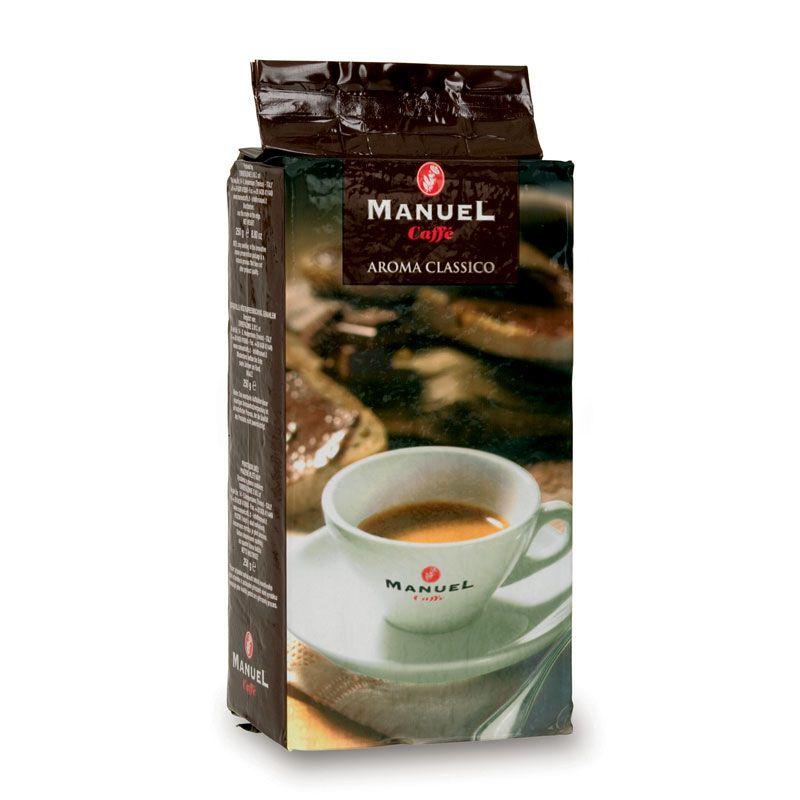 Manuel Caffe Aroma Classico 250 gr-os - 30% arabica őrölt kávé