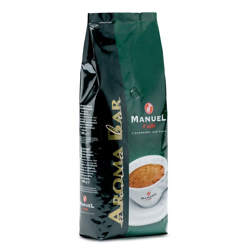 Manuel Caffe Aroma Bar - 80% arabica 1 kg szemes kávé