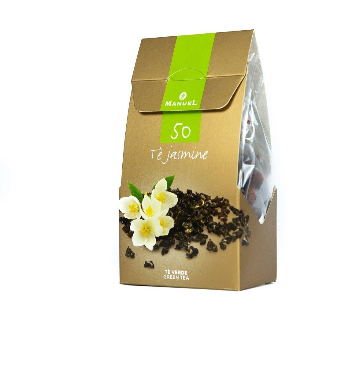 Szálas tea piramisfilterben – Zöld tea Jázminnal