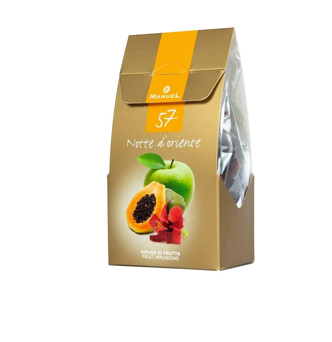 Szálas tea piramisfilterben - Trópusi