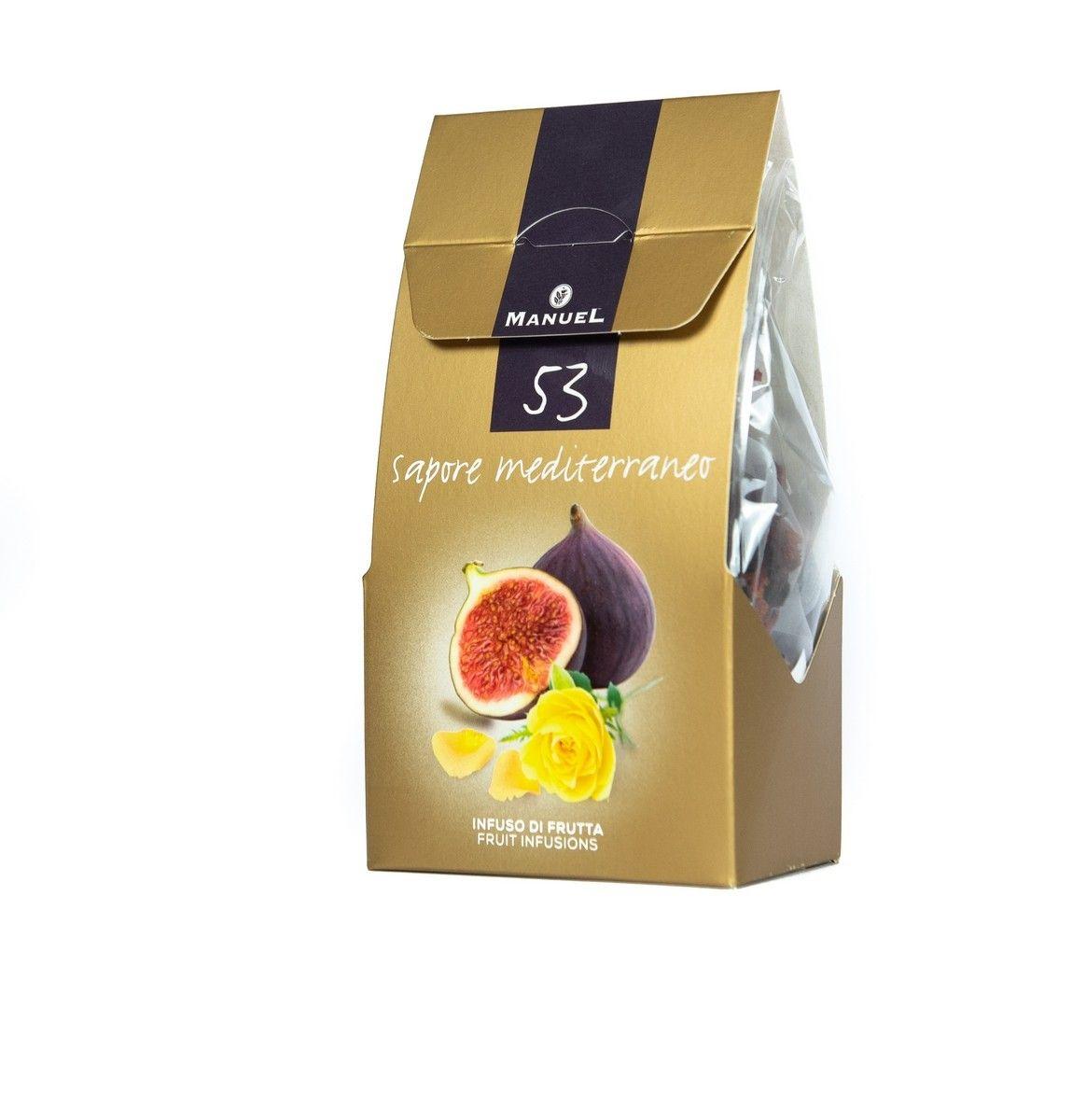 Szálas tea piramisfilterben - Füge-sárgarózsa